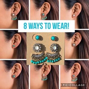 Chloe + Isabel Jaipur Convertible Jacket Earrings